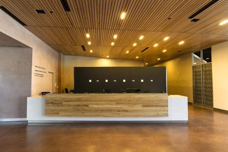 How To Build A Reception Desk