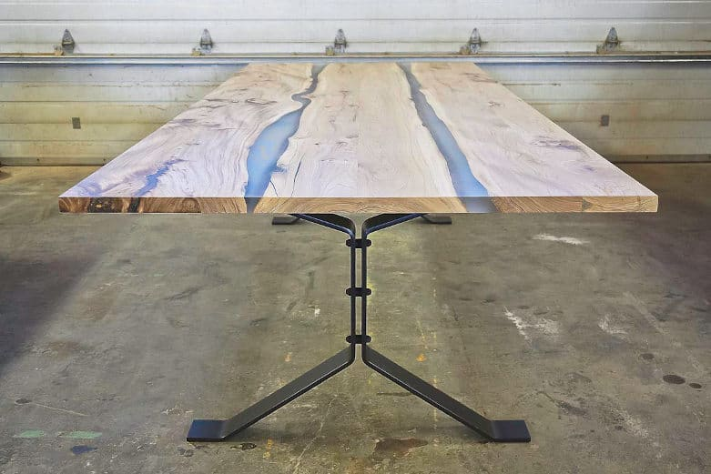 elm conference table