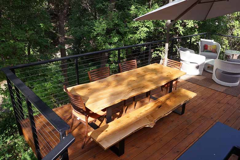 wood-patio-table-bench